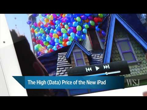 The High (Data) Price of the New iPad