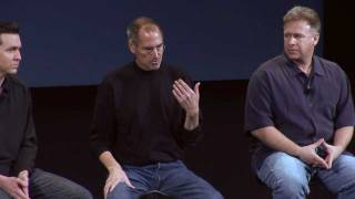 Steve Jobs:Android versus the iPhone