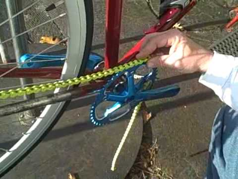Fixie Bike Chain Install - How to DIY - Master Link - BikemanforU