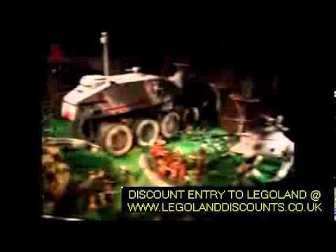 Star Wars Miniland Video Walkthrough (LEGOLAND UK)