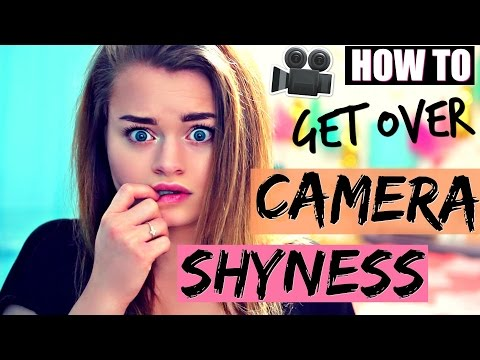 How to Get Over Camera Shyness FAST!