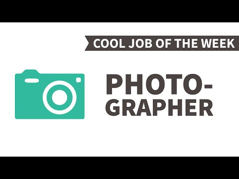 Cool Job of the Week: Photographer