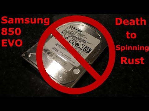 Samsung 850 EVO SSD Installation