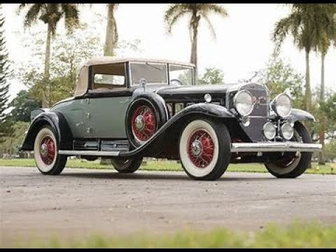 1930 Cadillac V 16 Convertible Coupe by Fleetwood