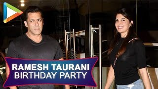 Ramesh taurani Birthday Party with many celebs| Jacqueline Fernandez | Dia Mirza | Ayush Sharma