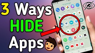 How to hide apps in Huawei Y5 | Music Jinni