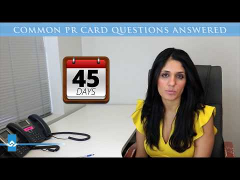 Common PR Card Questions Answered