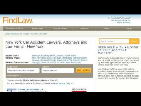 Accident Lawyer and Car Accident Lawyer