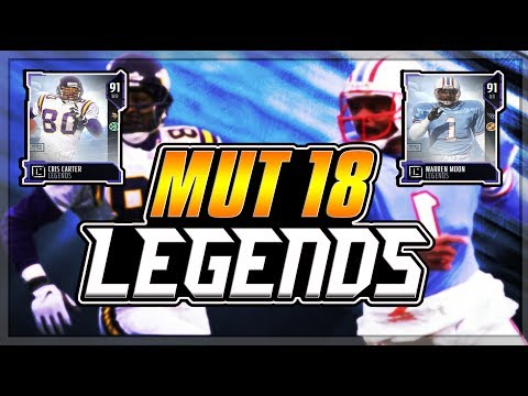 MUT 18 NEW LEGENDS REVEALED!!! MARSHALL FAULK IS COMING TO MUT 18!!!!