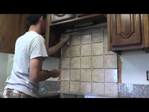 How To Install Granite Countertops On A Budget - Part 6 - Backsplash
