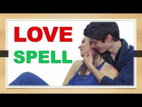 Spell to make someone fall in love with you-Pagan love spell