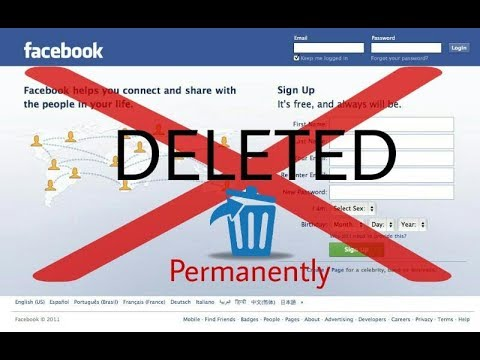 How to Delete facebook account permanently and Download Facebook Data in Hindi