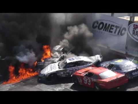 Fires at the Rockford Speedway Spring Classic 2017