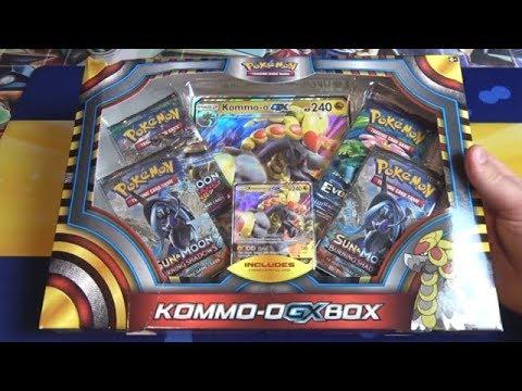 Pokemon Kommo-o GX Box Opening