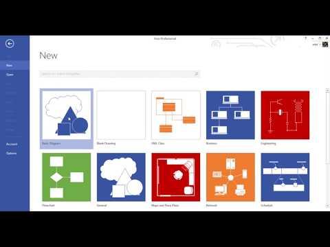 Belajar Membuat Use Case Diagram Dengan Microsoft Visio 2013