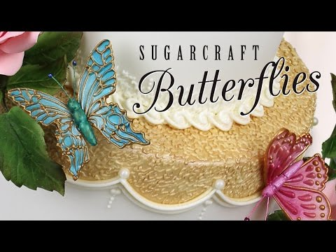 Creative Cake System Sugarcraft Butterflies with Ceri Griffiths