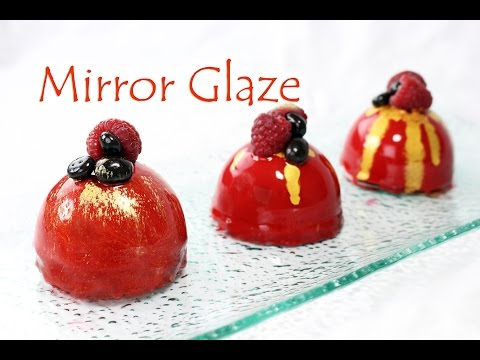 Shiny Mirror Glaze Recipe~ vegetarian version ~ NO GELATIN!