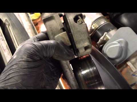 Ford Powerstroke 6.4l Serpentine Belt and Tensioner Replacement