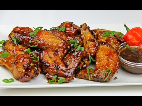Tamarind Glazed Chicken Wings - Super Bowl Special | CaribbeanPot.com
