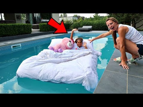 Xxx Mp4 TIANA 39 S BED IN OUR SWIMMING POOL PRANK 3gp Sex