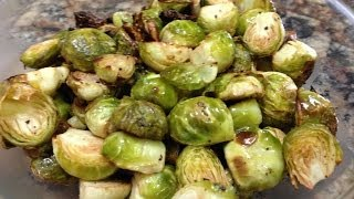 Oven Roasted Brussel Sprouts Recipe Hasfit Lemon Garlic Brussel Sprou