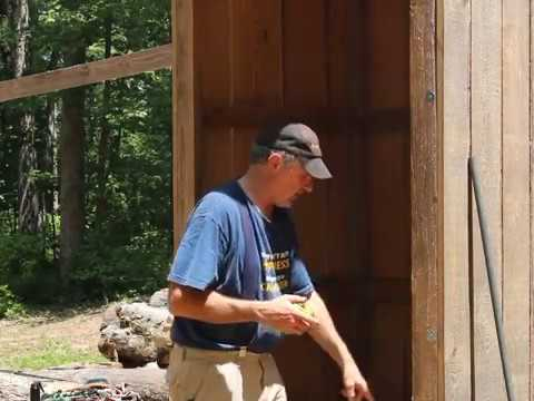 Sawmill Shed Door Build