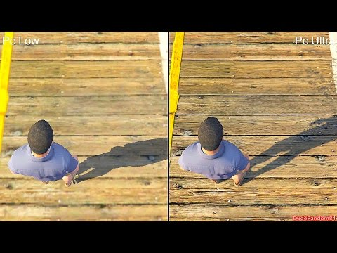 GTA 5 Pc Low Vs Pc Ultra Graphics Comparison - PlayItHub Largest