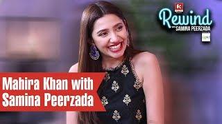 Mahira Khan on Rewind with Samina Peerzada | Episode 2 | Humsafar | Verna | Being in Love | Struggle