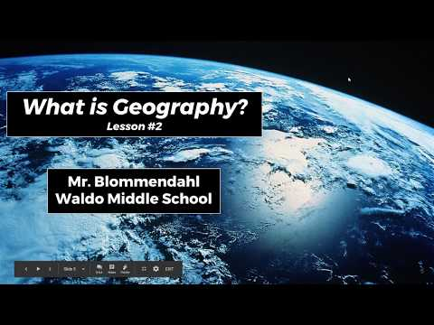 What is Geography? - Lesson #2