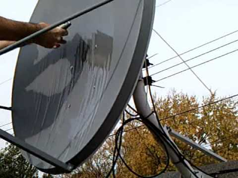 Do you loose Satellite Signal in the Rain? Try NEVERWET