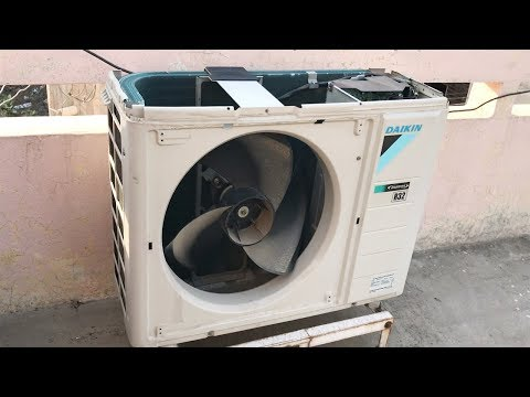 How to Clean Outdoor Unit of Split Air Conditioner at Home || Step by Step || Dry Service ||