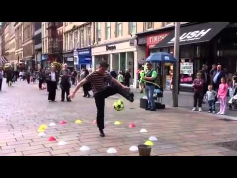 ironH3r0 Out And About   Football Skills In Glasgow