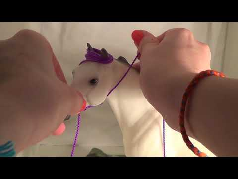 How To Make A Breyer Rope Halter