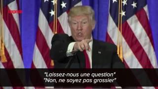 """Trump s'en prend à un journaliste de CNN: """"Taisez-vous!"""""""