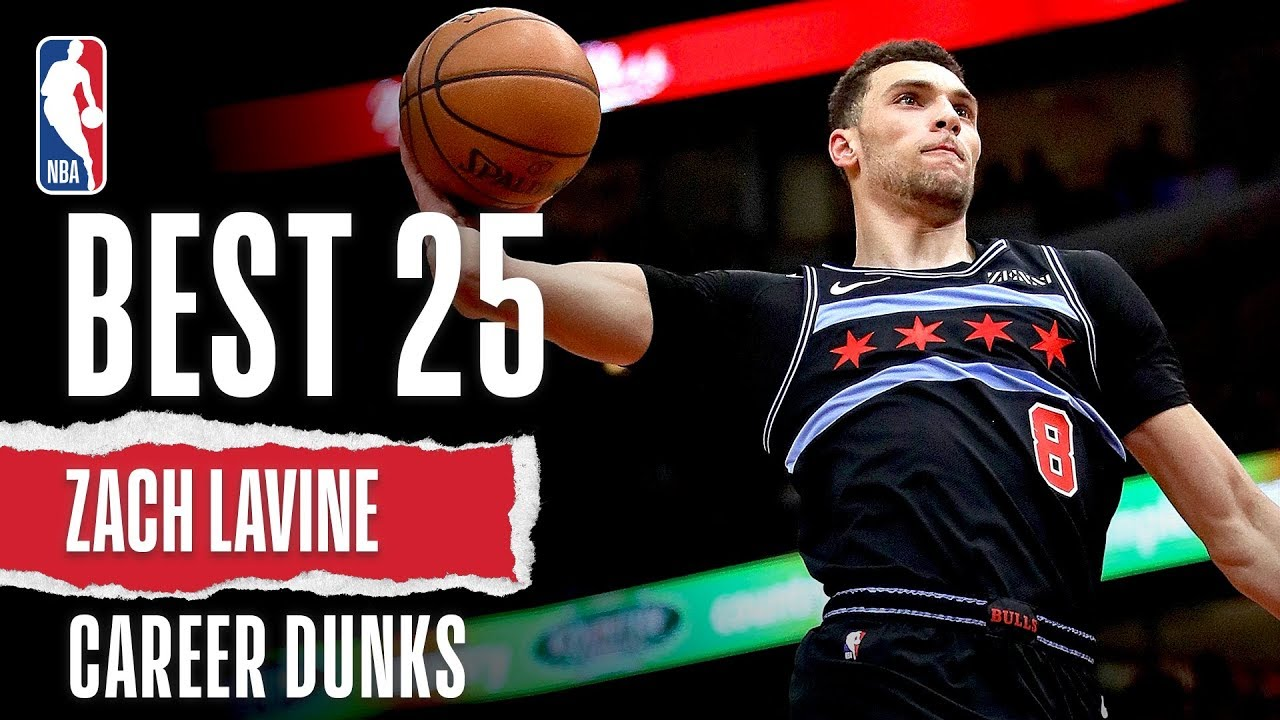Zach Lavine's BEST 25 Dunks | NBA Career Highlights