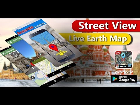 Street View Live Map Satellite GPS Navigation