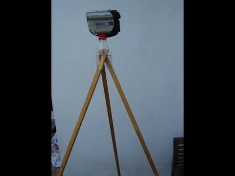 easy homemade camera camcorder tripod stand
