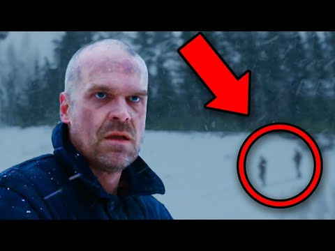 STRANGER THINGS Season 4 Trailer Breakdown! Hopper Russia Explained!
