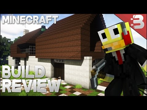 ✔ Minecraft: Epic Small Barn Conversion (Concept Style) + Modern Guest House - Build Review