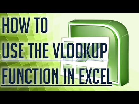[Free Excel Tutorial] HOW TO USE THE VLOOKUP FUNCTION IN EXCEL - Full HD