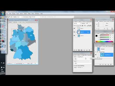 HTML Image Map in Photoshop CS2 (with Image Ready)