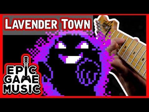 Pokemon Lavender Town Theme (Guitar Remix) || Epic Game Music