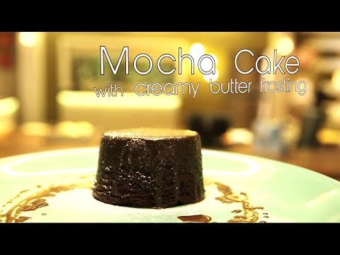Mocha Cake with Creamy Butter Frosting | Chef Gautam Mehrishi | Bake Do Teen