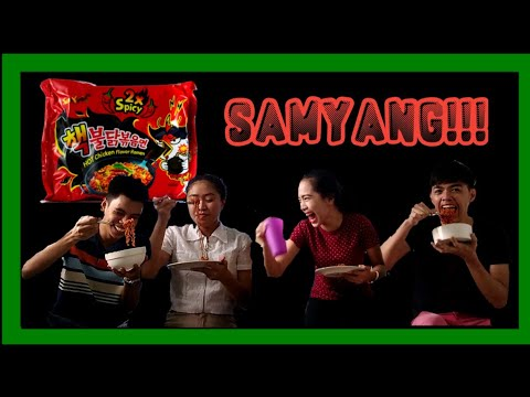 SPICY NOODLE CHALLENGE With Deb, Shey & Louie | Jay Jayz PH