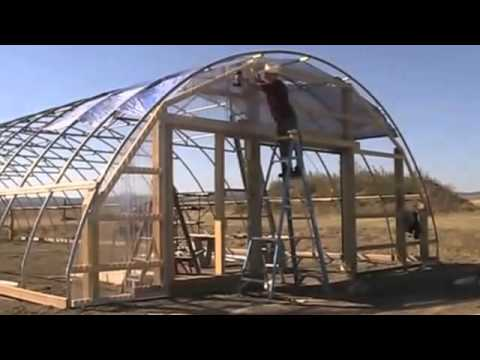 Build the High Tunnel Greenhouse