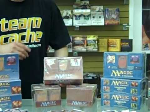Magic cards Alpha, Beta, Unlimited boosters, starters, packs, boxes at Collector's Cache