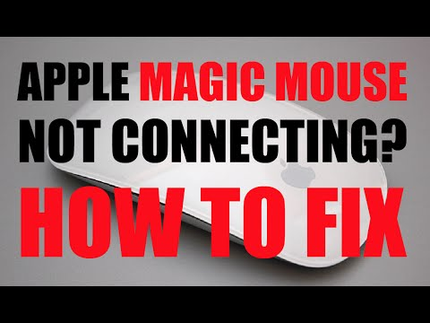 Apple Magic Mouse Not Connecting - How To Fix