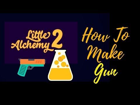 Little Alchemy 2-How To Make Gun Cheats & Hints