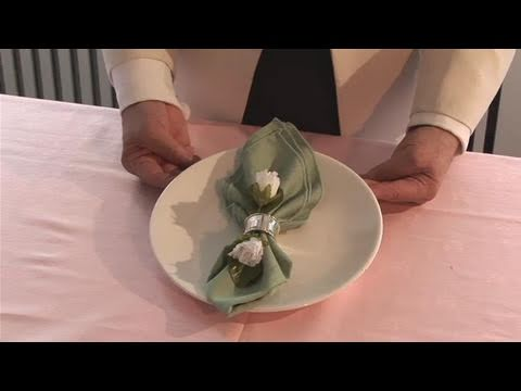 How To Set Up Napkin Rings