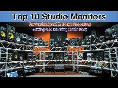 Top 10 Studio Monitors 2018